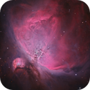 M42 and Trapezium cluster,                                Barry Wilson
