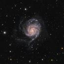 M101 - The Pinwheel Galaxy,                                Jan Beckmann