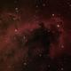 LDN 1622 - 'Boogie Man' nebula (H-S-II),                                Rich Sky