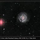 NGC 3184, Little Pinwheel Galaxy, OSC (UHC-S), 17 Mar 2016,                                David Dearden