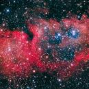 Soul Nebula (IC 1848),                                Jeff Hall