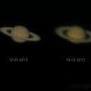 Saturn over 12 months,                                Dennys_T