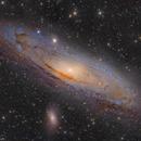Wandering Fire ( M31 , The Andromeda Galaxy ) (3x3 mosaic),                                Reza Hakimi