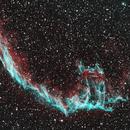 NGC6992 Eastern Veil Nebula - HOO,                                SoDakAstronomyNut