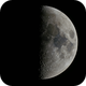 First Quarter Moon,                                astropical