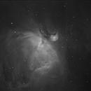 M42 The Orion Nebula - Ha,                                Emilio Zandarin