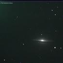 M104, The Sombrero Galaxy,                                budman1961