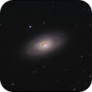 M64 - Black Eye Galaxy,                                rhedden