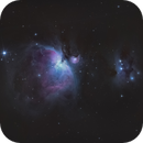 M42: The Orion Nebula,                                Brian F