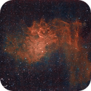 IC 405 in Auriga,                                Francois Theriault