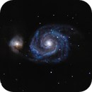Whirlpool galaxy (M51),                                Andrew Gutierrez