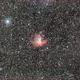 PacMan NGC 281,                                Tsepo