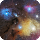 Rho Ophiuchi & Antares Region,                                Adrien Klamerius