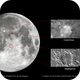 Moon Craters - Copernicus and Albategnius,                                Sergio G. S.