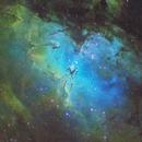 M16 - Pillars of Creation,                                Astronomy Academy