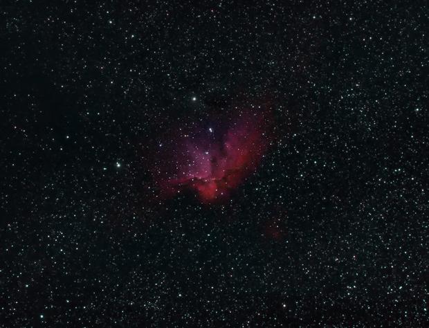 NGC7380 Wizard Nebula,                                kribba