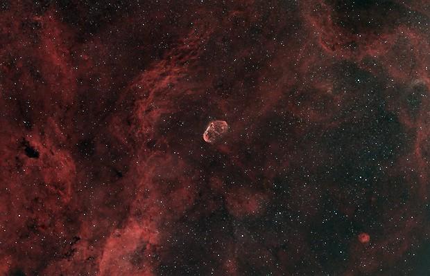 Crescent Nebula - NGC 6888,                                Grzegorz Łysik