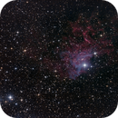 Flaming Star nebula,                                Hans-Friedrich Tr...