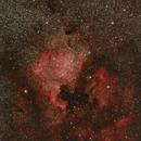 NGC 7000 y alrededores,                                Pedro Asunción