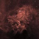 IC 405 - La nébuleuse de l'étoile flamboyante,                                Ludovic