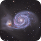 M51-  First Light with Reducer,                                Chris R White