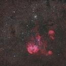The Running Chicken Nebula  (IC 2944) in Centaurus,                                Tragoolchitr Jittasaiyapan
