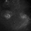 IC405 and 410 - The Flaming Star Nebula Region,                                Wayne H