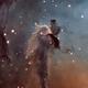 Stellar Spire in the Eagle Nebula,                                KuriousGeorge