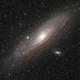 Messier 31,                                Alain L'ECOLIER