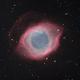 Helix Nebula NGC 7293 Bicolor,                                jerryyyyy