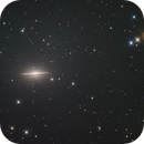 M104, the Sombrero galaxy,                                Gianni Cerrato