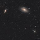 NGC 3077 - NGC 3031 - NGC 3034  (M81 Group),                                Richard H