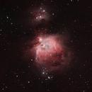 M42 Orion Nebula,                                Astroricker