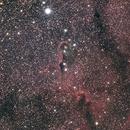 IC 1396. Zoom on The Elephant Trunk nebula,                                Eric MAZALEYRAT