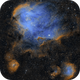 The Running Chicken Nebula (IC 2944),                                Peter Dunsby