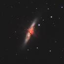 M82 - Cigar galaxy in HaLRGB,                                Muhammad Ali