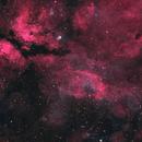 IC 1318 The Sadr Region (Including NGC 6888), a 4-Pane Narrowband Mosaic,                                Eshan Toorabally