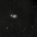 M51- The Whirlpool Galaxy,                                Zach Coldebella