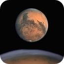 Mars on 07.11.2020 - good seeing :-),                                Henning Schmidt