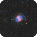Dumbbell nebula in the constellation Vulpecula (M27),                                Trần Hạ