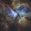 Hubble Palette Great Carina Nebula,                                Greg Sleap