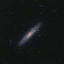 Sculptor galaxy,                                John Michael Bellisario