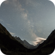 Time lapse of Milky Way at Lutour valley,                                Olivier Ravayrol