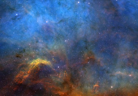 NGC7000 North America - upper parts,                                Tayson