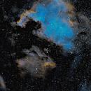 NGC 7000 and IC5070 in HOO,                                Eric Watson