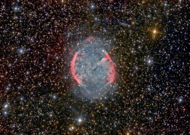 Dumbbell Nebula,                                Matt Jenkins