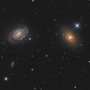 NGC 5363 and NGC 5364,                                Chris Sullivan