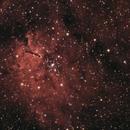 NGC 6820 / NGC 6823 with TS72/432 Apo, ASI178s (uncooled),                                Doc_HighCo