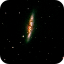 M82 in LRGB (cropped),                                Mike