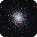 M13 - Globular Cluster in Hercules,                                David Andra